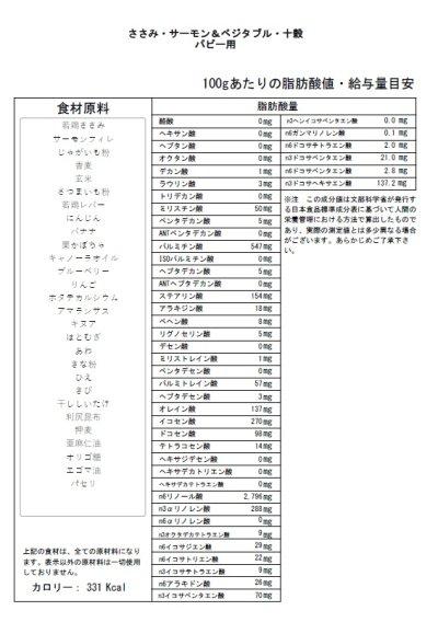 画像2: 【ささみ・サーモン&ベジタブル・十穀】パピー用