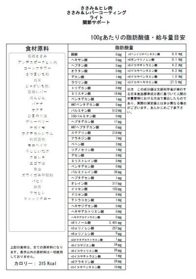 画像2: 【ささみ&ヒレ肉】 ライト・関節サポート
