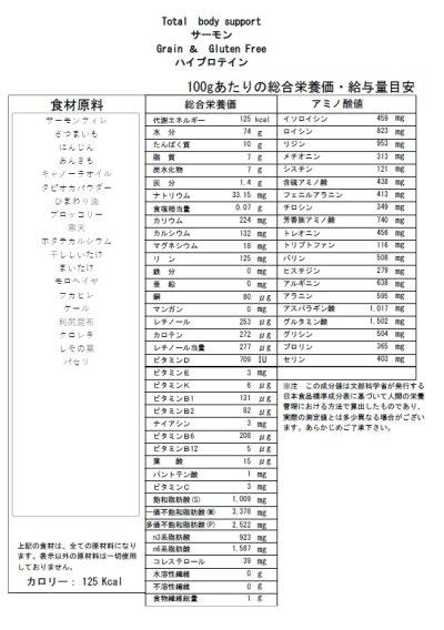 画像1: Wet Food  サーモン ハイプロテイン  (高栄養食)